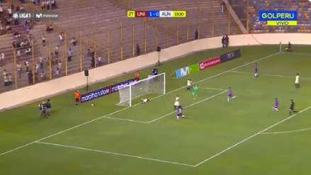 El blooper de Guillermo Rodríguez que terminó en autogol y en el empate de Alianza Universidad
