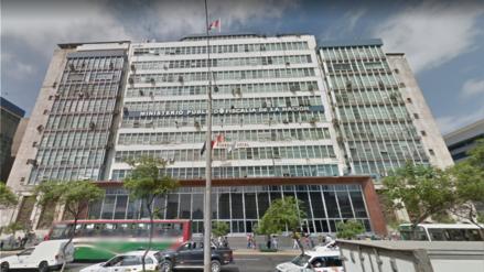 Bomberos controlaron amago de incendio en la sede central del Ministerio Público