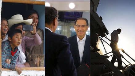 Recorridos, ceremonias y encuentros: 12 fotos que dejó el primer año de gobierno de Martín Vizcarra