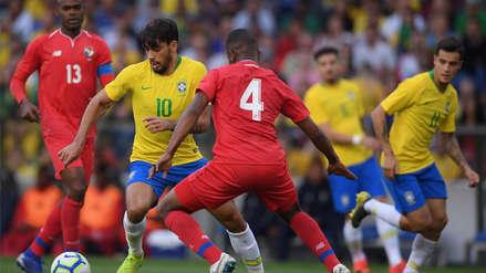 Brasil igualó 1-1 ante Panamá en amistoso internacional de fecha FIFA