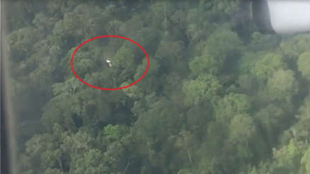La FAP avista restos de una aeronave en búsqueda de avioneta desaparecida en Loreto