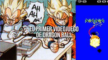¡Hilarante! Así fue el primer videojuego de Dragon Ball de la historia