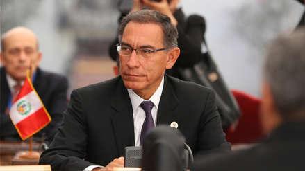 Martín Vizcarra no descarta cuestión de confianza si reformas judiciales no avanzan en el Congreso