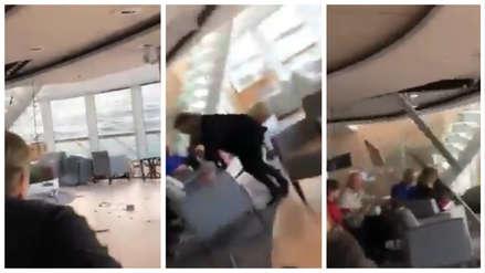 Los dramáticos momentos que vivieron los pasajeros de crucero que casi se hunde en Noruega [VIDEOS]