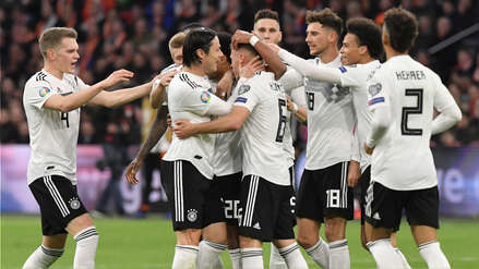Alemania obtuvo un agónico triunfo frente a Holanda en el Johan Cruyff Arena