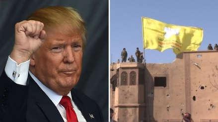 Trump saluda el fin del califato del Estado Islámico, pero asegura que se mantendrán alertas