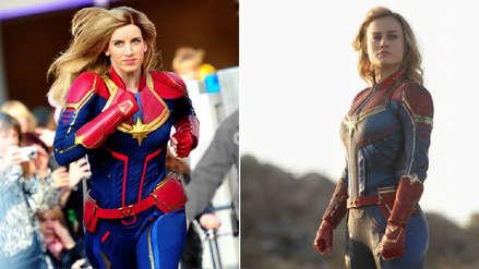 Capitana Marvel y los Vengadores salvan el mundo en el parque de Disney en París
