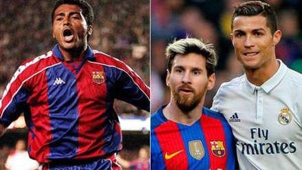 Romario eligió quién es mejor: Cristiano Ronaldo o Lionel Messi
