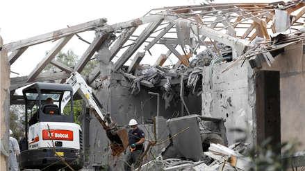 Israel refuerza periferia de Gaza y acusa a Hamás del disparo de un cohete a Tel Aviv