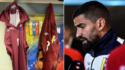Venezuela vs. Cataluña: Tomás Rincón denunció que jugaron con camisetas compradas en la calle