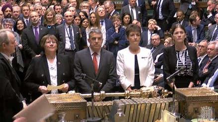 El Parlamento británico aprobó una enmienda que le permite mayor influencia en el proceso del Brexit