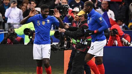 Francia apabulló a Islandia y sumó su segunda goleada en las Eliminatorias Eurocopa 2020