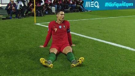 Cristiano Ronaldo se lesionó en el Portugal vs. Serbia y se prenden las alarmas en Juventus