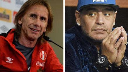 Diego Maradona señaló que Ricardo Gareca es su candidato favorito para dirigir la Selección Argentina