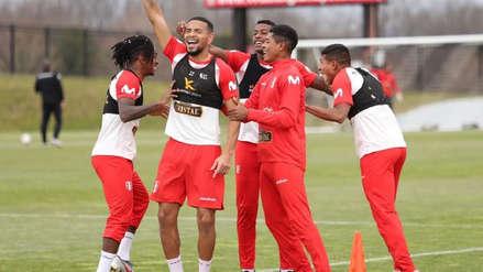 Selección Peruana: Edison Flores presentó al equipo ganador del penúltimo día de entrenamiento