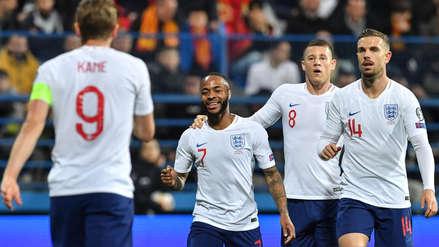 Inglaterra goleó 5-1 a Montenegro por las Eliminatorias de la Eurocopa 2020