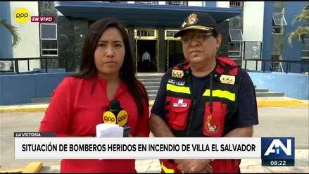 Bomberos afectados por incendio contaban con uniformes de más de diez años de uso