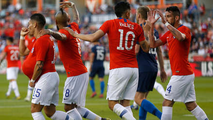 Chile 1-1 Estados Unidos EN DIRECTO minuto a minuto  por amistoso internacional FIFA