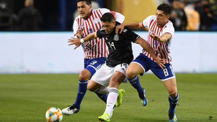 Mexico beat Paraguay 4-2 in international friendly match of FIFA