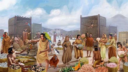 Caral, la civilización más antigua de América, comerció con pueblos de la sierra y selva