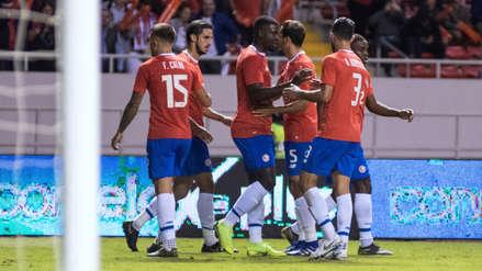 Costa Rica derrotó 1-0 a Jamaica  por amistoso internacional FIFA