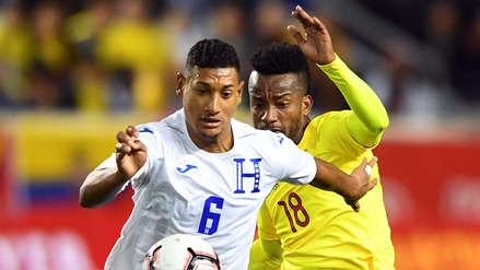 Ecuador empató 0-0 con Honduras en amistoso internacional FIFA