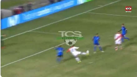 ¡Increíble! André Carrillo y la ocasión de gol que erró de cara al arco de El Salvador