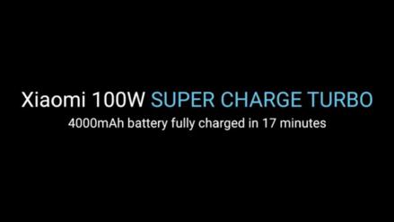 Xiaomi le quiere robar el show a Huawei con un cargador capaz de llegar al 100% de carga en 17 minutos