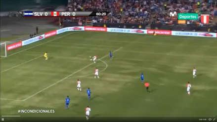 Perú vs El Salvador: el autogol de Trauco que puso el 0-1 en partido amistoso
