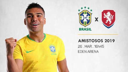 Brasil 3-1 República Checa:  minuto a minuto - Amistoso Internacional FIFA