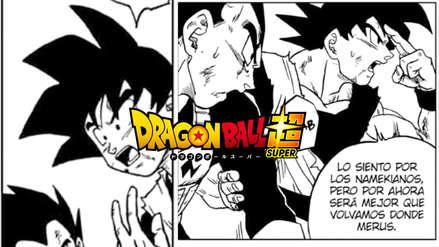 Dragon Ball Super | ¿Gokú se acobardó? El saiyajin decide abandonar a los namekianos a una muerte segura