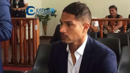 Paolo Guerrero participó de audiencia en contra de abogado del Swissotel