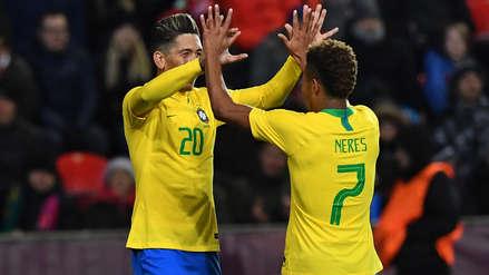 Brasil ganó 3-1 a República Checa en amistoso internacional FIFA