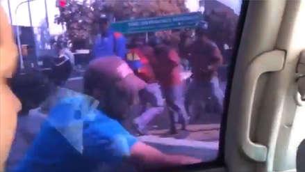 Venezuela | Civiles atacaron vehículo que transportaba a Juan Guaidó