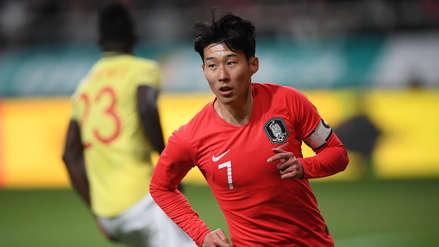 Colombia no pudo ante Corea del Sur y fue derrotado en amistoso en Seúl