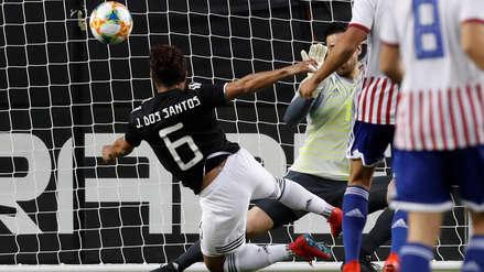 México vs. Paraguay: Jonathan Dos Santos marcó su primer gol con el 'Tri'