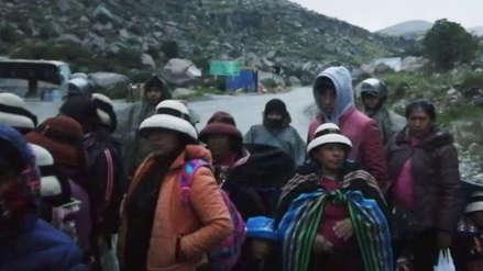 Las Bambas | Fiscal de Challhuahuacho constató que no hubo enfrentamientos en Fuerabamba