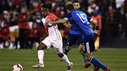 Perú vs El Salvador: la jugada de Yordy Reyna que casi termina en gol