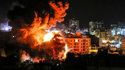 Fuego, destrucción y cenizas: 20 impactantes imágenes que dejó el bombardeo de Israel en Gaza