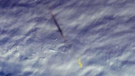 La NASA mostró imágenes de la bola de fuego que explotó con la potencia de 10 bombas nucleares