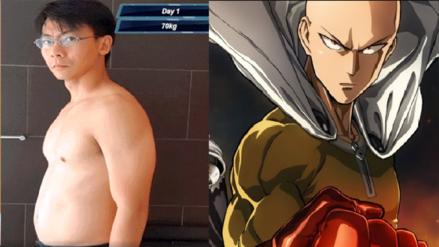 Un anime te puede ayudar a bajar de peso: Este es el reto basado en 'One Punch Man'