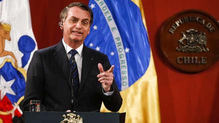 Bolsonaro negó dictadura en Brasil y calificó de