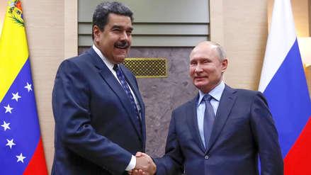 Maduro elogia a Putin y anuncia que Rusia y Venezuela firmarán