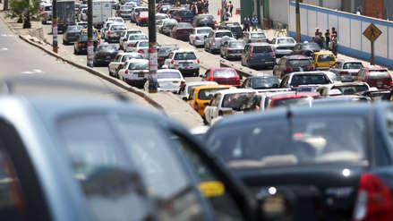 La cuesta del calvario sufre una obstrucción vehicular