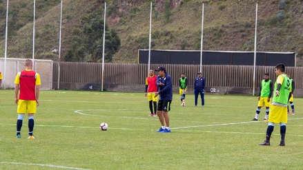 Juan Reynoso dirigió su primera práctica como entrenador de Real Garcilaso