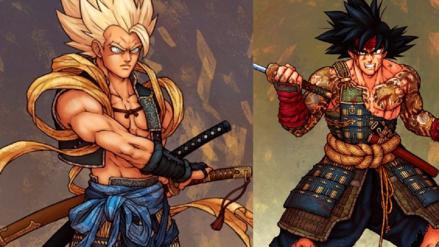 Dragon Ball Super | Artista imagina a Gokú y sus amigos como personajes al estilo de 'Sekiro: Shadows Die Twice'