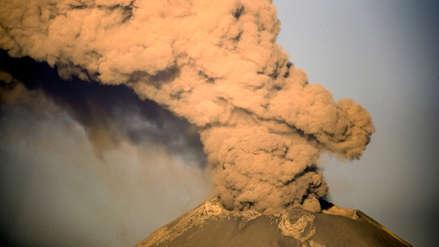 México aumenta alerta por actividad del volcán Popocatépetl