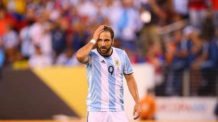 Gonzalo Higuaín se despide: