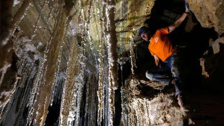 Exploradores presentan en Israel la cueva de sal más grande del mundo