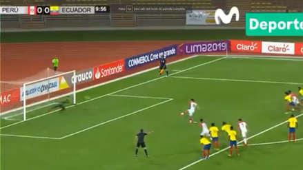 Perú vs Ecuador: mira aquí el gol de penal de la bicolor por Sudamericano Sub 17